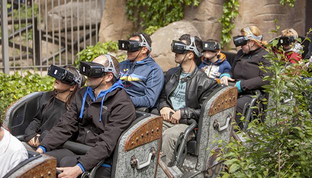 El Parque de Atracciones de Madrid acaba de inaugurar una montaña rusa con realidad virtual.