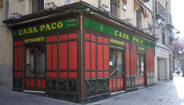 La cocina castellana es la especialidad de Casa Paco, una auténtica casa de comidas.