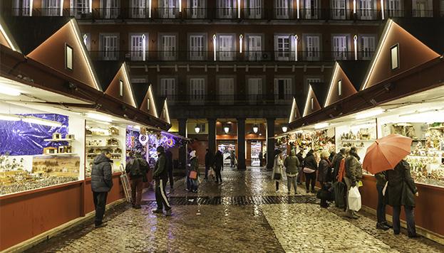 Mercadillos navide os bloggin 39 madrid blog de turismo - Mercado de navidad en madrid ...