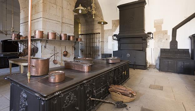Las cocinas del Palacio Real