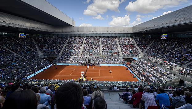 El tenis mundial pone sus ojos en Madrid (© Mutua Madrid Open de Tenis)