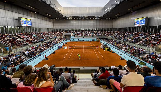 El Mutua Madrid Open es uno de los grandes eventos deportivos que se celebran en la ciudad (© Mutua Madrid Open de Tenis)