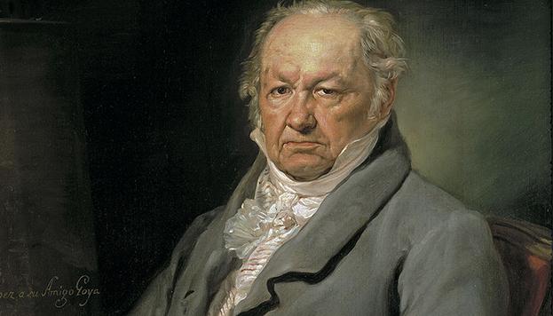 El pintor Francisco de Goya (Vicente López Portaña). Museo de El Prado, Madrid