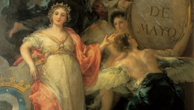 Alegoría de la Villa de Madrid (Francisco de Goya). Museo de Historia de Madrid