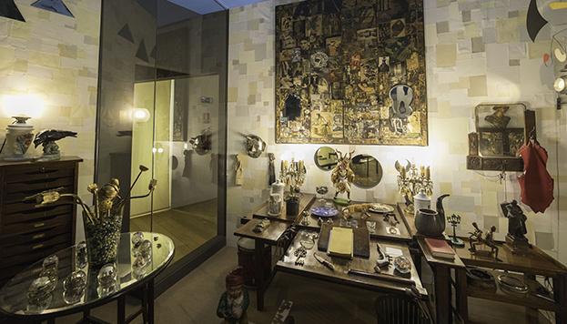 Despacho de Ramón Gómez de la Serna (Museo de Arte Contemporáneo)