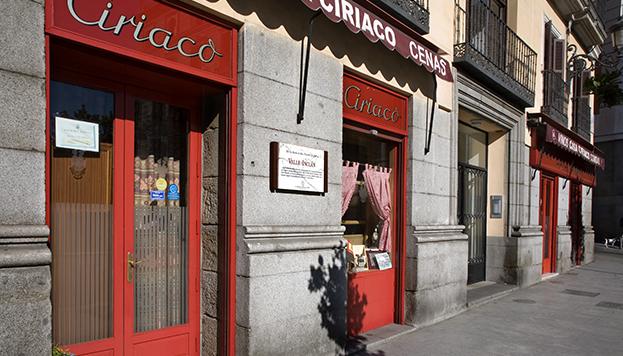 Casa Ciriaco, en la calle Mayor, es el punto de partida de La Noche de Max Estrella.