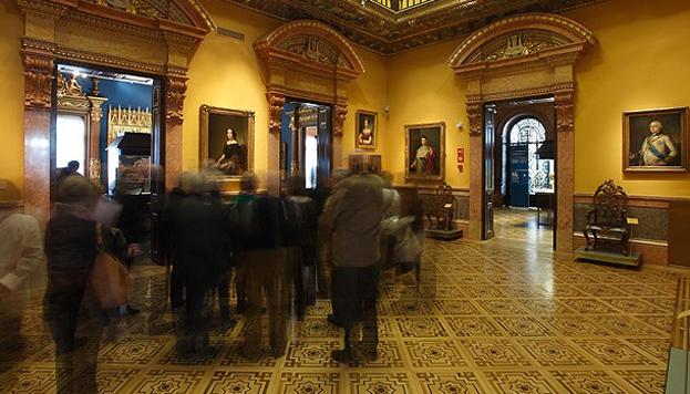 Museo Lázaro Galdiano. Antiguo Salón de Baile