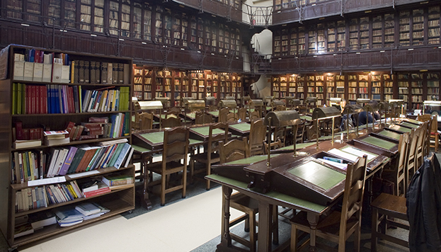 Interior del Ateneo de Madrid