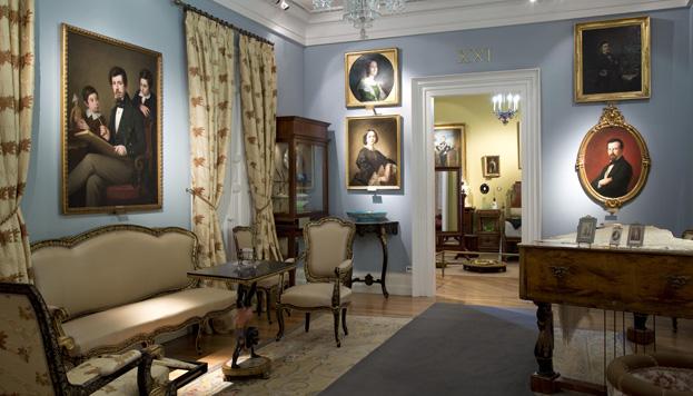 Museo del Romanticismo. Gabinete