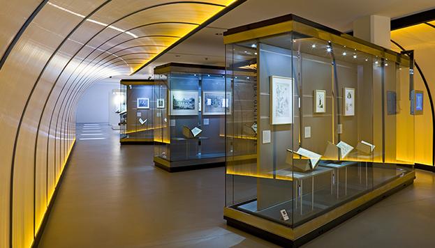 Museo del Libro. Sala de las Musas