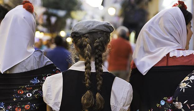 Fiestas de la Paloma en el barrio de La Latina
