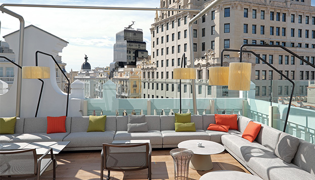 Holte NH Collection Madrid Gran Vía (Terraza Picalagartos)