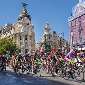 La Vuelta llega a Cibeles
