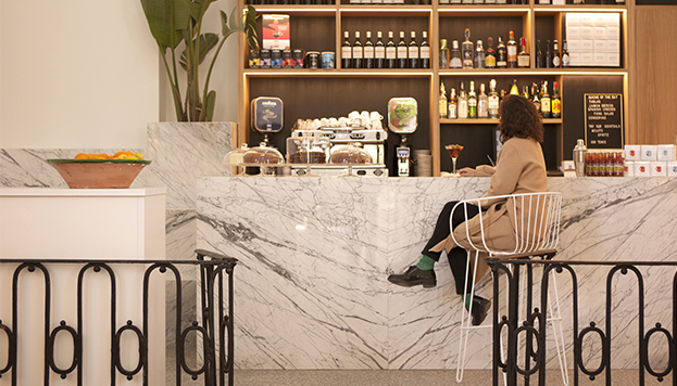 La Cátedra, café-tienda en el Real Jardín Botánico