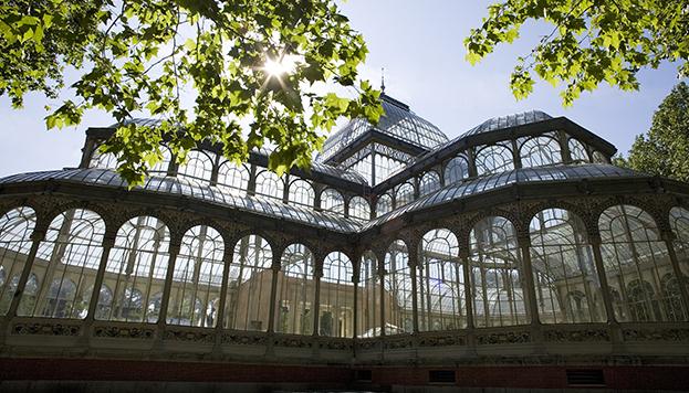 Palacio de Cristal. Parque de El Retiro