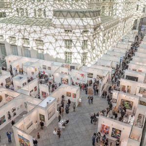 Los artistas emergentes brillan en Art Madrid