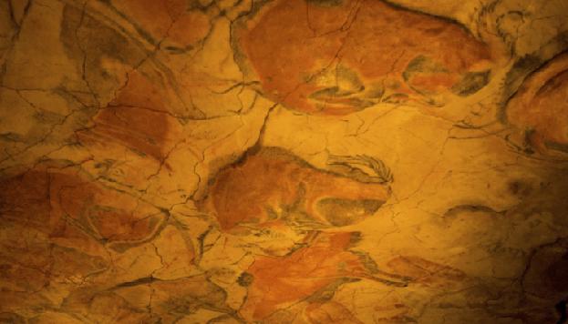 Reproducción de las Cuevas de Altamira en el Museo Arqueológico Naciona