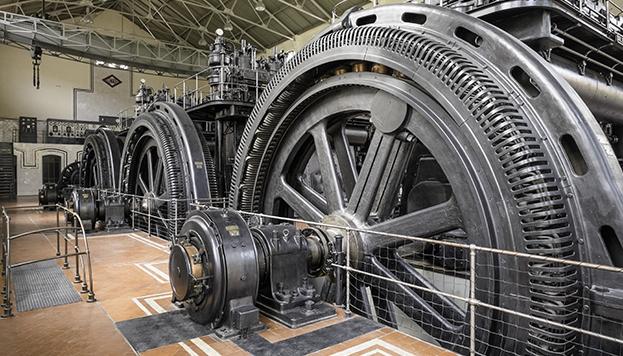 Nave de Motores de la estación de Pacífico