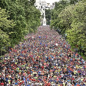 El maratón se llena de arte