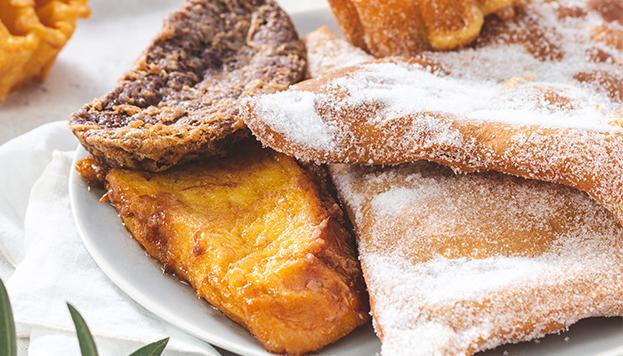 Torrijas de El Horno de San Onofre, entre otros dulces típicos de Semana Santa.