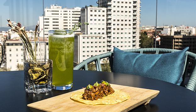 Hasta el 31 de mayo puedes disfrutar del Hotel Tapa Tour, con propuestas como esta del Hotel VP Plaza España Design.