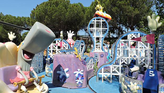 Zona Nickelodeon. @ Parque de Atracciones de Madrid