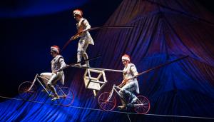 El espectáculo tiene varios números acrobáticos©Cirque du Soleil