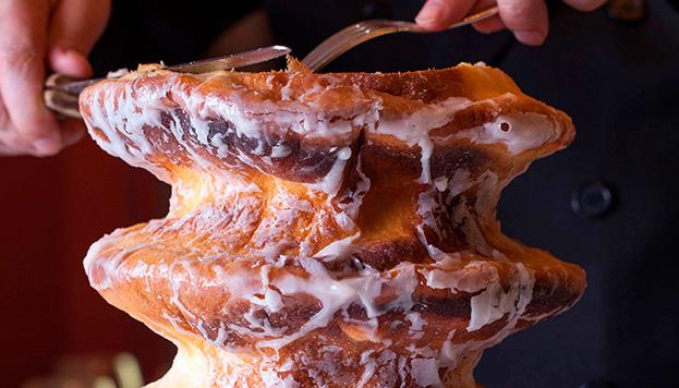 Si echas de menos el baumkuchen (pastel de árbol alemán) de Horcher, ahora puedes pedirlo.