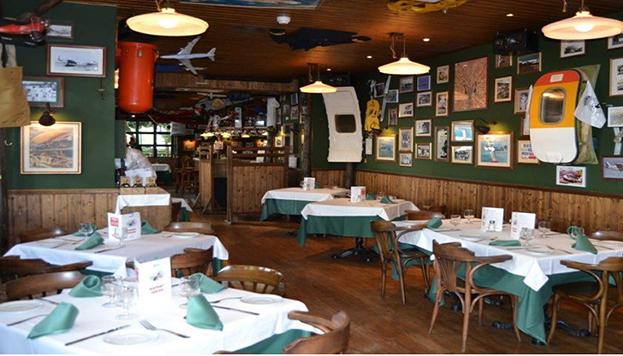 El bar El Vuelo es en realidad el Airport Tabern de la calle de Serrano.