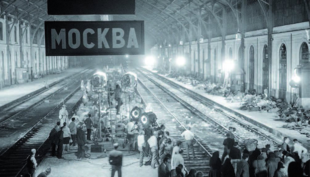 La antigua estación de Delicias fue una estación moscovita en Doctor Zhivago.