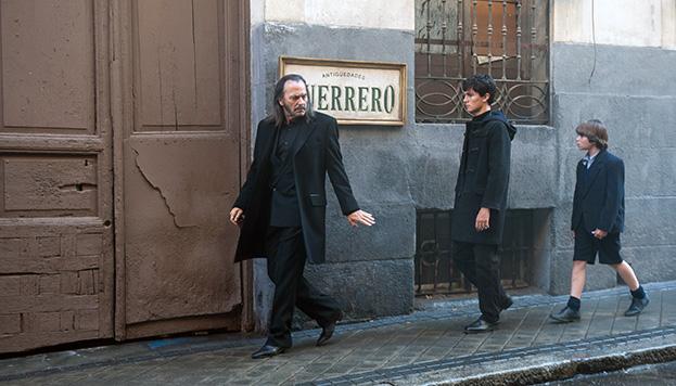 La familia Guerrero, protagonista de Gigantes, vive en El Rastro (Foto: Movistar+).