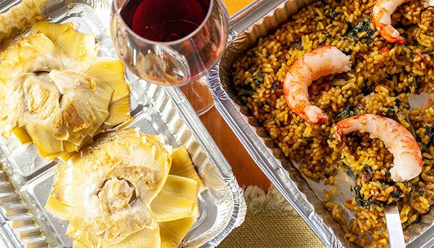 La carta del restaurante Berlanga nos acerca sabores muy mediterráneos.