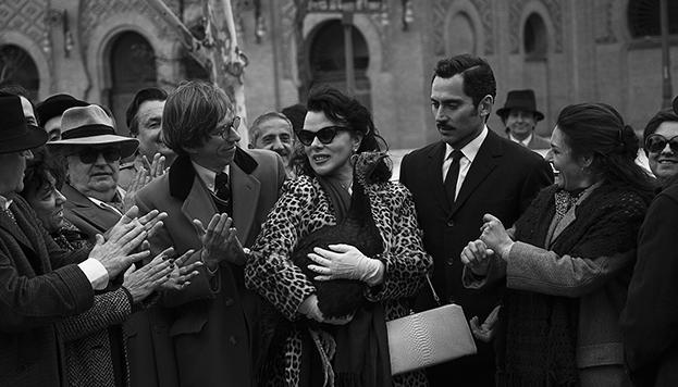 A Ava Gardner le gustaba mucha acudir a Las Ventas, tal y como se ve en la serie.