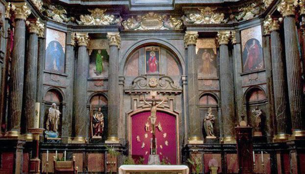 ... Y esta, la capilla de San Isidro, contruido por el mismo motivo.