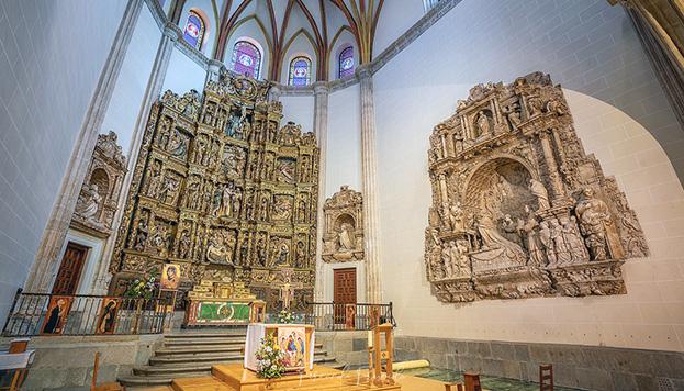 La Capilla del Obispo fue construida para albergar los restos de san Isidro (Foto: Museo de la Catedral de la Almudena)...