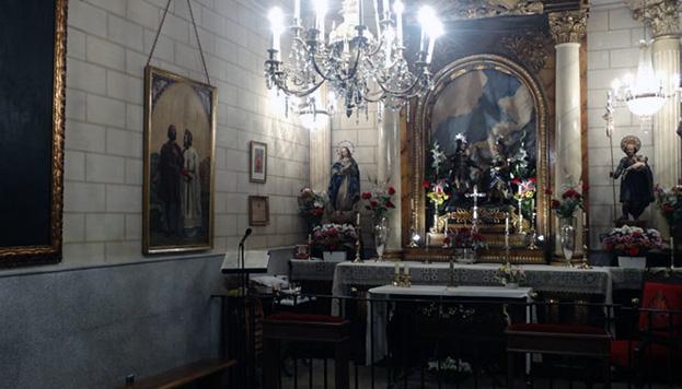 Esta es La Cuadra, levantada en el lugar donde el santo guardaba sus bueyes (Foto: Real Congregación de San Isidro).