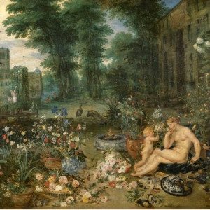 En el jardín del Prado