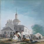 La ermita de San Isidro el día de la fiesta. 300x300