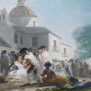 La Pradera según Goya