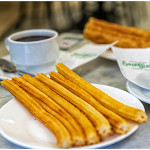 Churros con chocolate de San Ginés