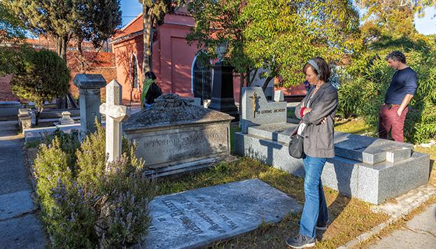 El Cementerio Inglés está en Carabanchel y se puede visitar (©Álvaro López del Cerro).