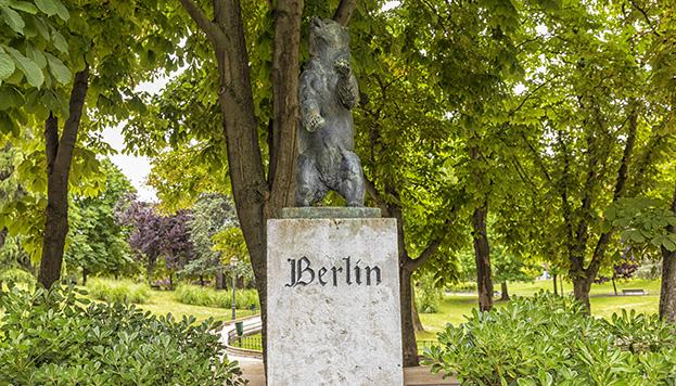 Este oso vive en el Parque de Berlín (©Álvaro López del Cerro)