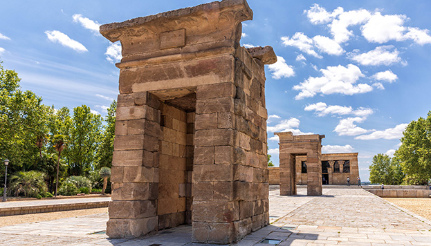 ¡Nos vamos a Egipto! Solo hay que acercarse al Templo de Debod (©Álvaro López del Cerro).