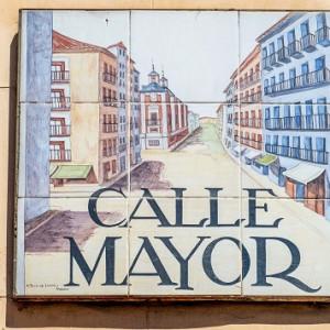 Retrato de una calle de Madrid