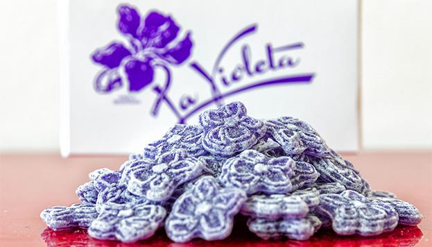 Los caramelos de La Violeta, compra obligada en Madrid (©Álvaro López del Cerro).