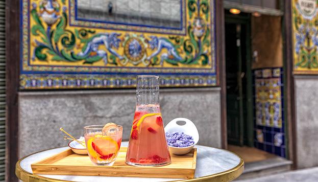 ¿Te atreves a preparar en casa nuestra limonada de violetas? (©Álvaro López del Cerro).
