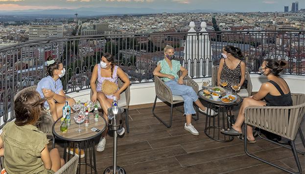 Espectaculares vistas de la terraza 360º (©Álvaro López del Cerro).