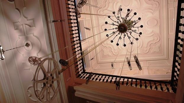 Escalera del Palacio de Perales.