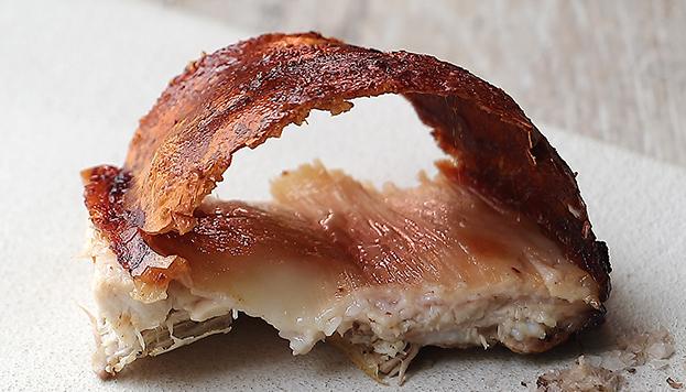 El cochinillo es una de las especialidades de Mario Sandoval.