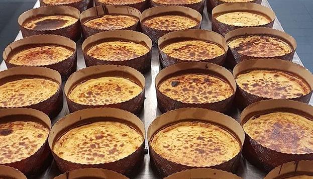 La tarta Pedroche de queso es ya casi tan famosa como la presentadora que le da nombre.